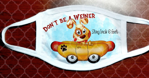 Face Mask - Don't Be a Wiener