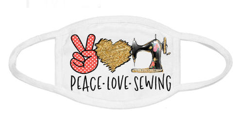 Face Mask - Peace Love Sewing