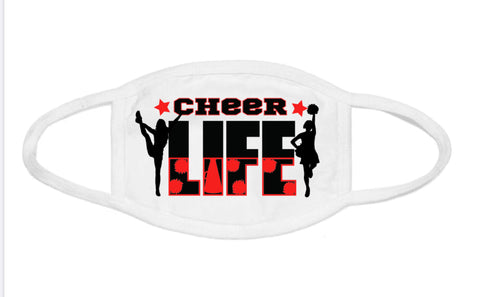Face Mask - Cheer Life