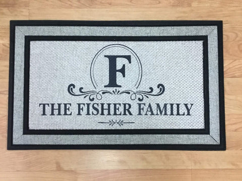 Family Name - Personalized Door Mat