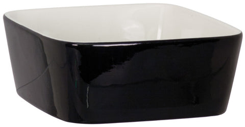 Large Ceramic Dog Bowl, Engraved