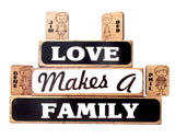 Love Makes a Family Block Set