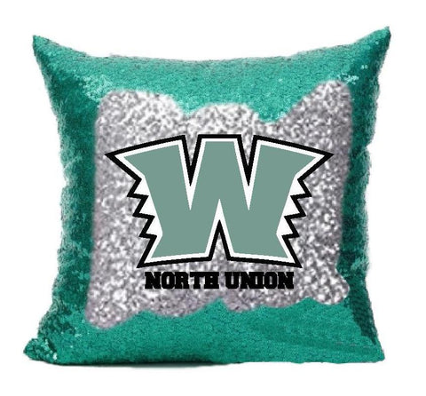 Warrior Sequin Pillow Cover