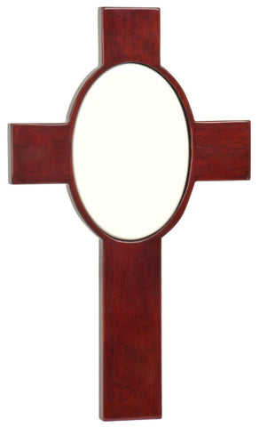 Rosewood Piano Finish Cross, Image Printing