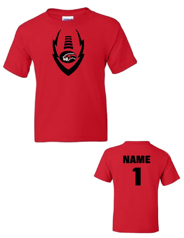 Viper Football T-Shirt, Youth 50/50