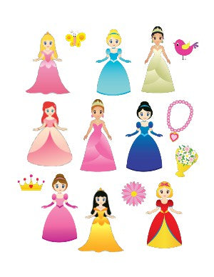 Helmet Decals, Princess