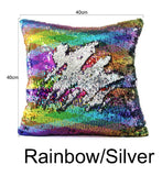 Unicorn Sequin Pillow