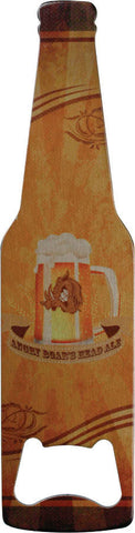 Bottle Opener, Bottle Shaped and Image Printed