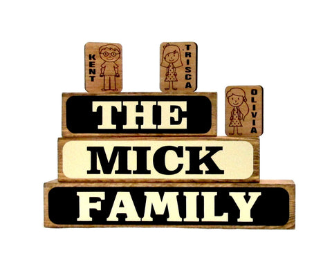 Family Name Block Set