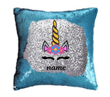 Unicorn Sequin Pillow Cover