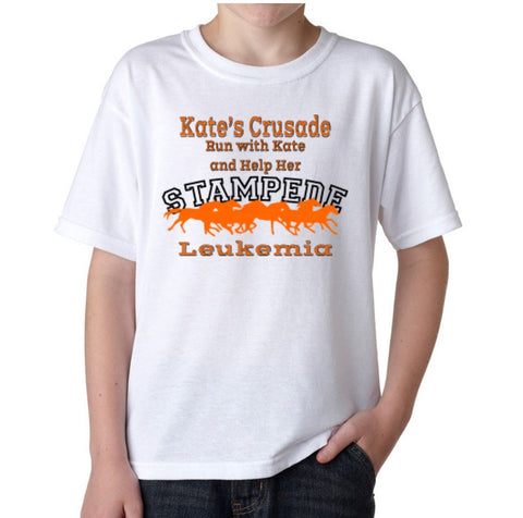 Kate's Stampede T-Shirt, Youth