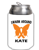 Swarm Around Kate Can Koozie