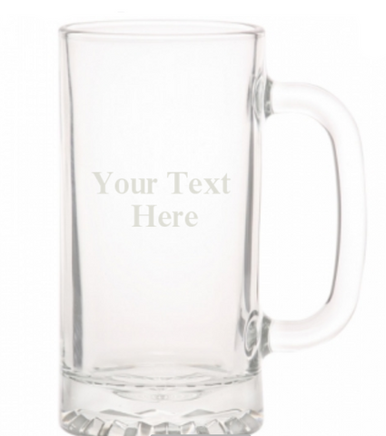 Beer Mug, Engraved