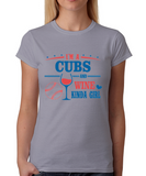 Cubs and Wine Girl T-Shirt