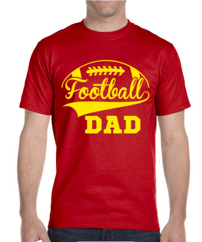 Football Dad T-Shirts, Colors Shirts