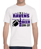 Ravens and Beer Guy T-Shirt