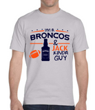 Broncos and Jack Guy T-Shirt