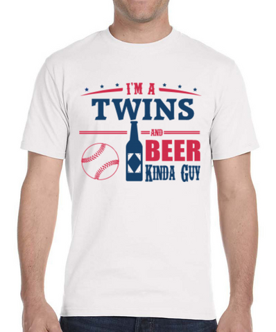 Twins and Beer Guy T-Shirt