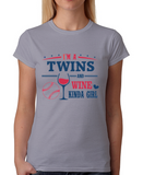 Twins and Wine Girl T-Shirt
