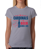 Cardinals and Beer Girl T-Shirt