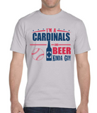 Cardinals and Beer Guy T-Shirt