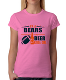 Bears and Beer Girl T-Shirt