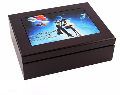 Rectangle Keepsake Box, Image Printed