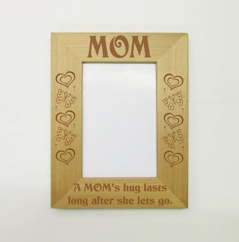 Mom's Hug Picture Frame
