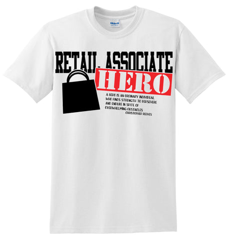 Retail Associate Hero T-Shirt
