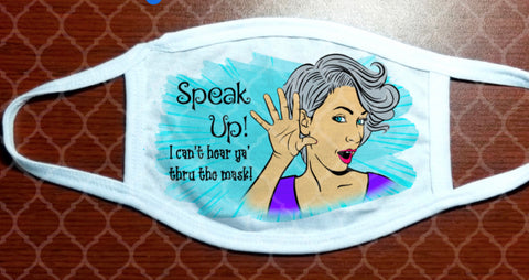 Face Mask - Speak Up