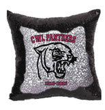 CWL Commemorative Sequin Pillow Cover