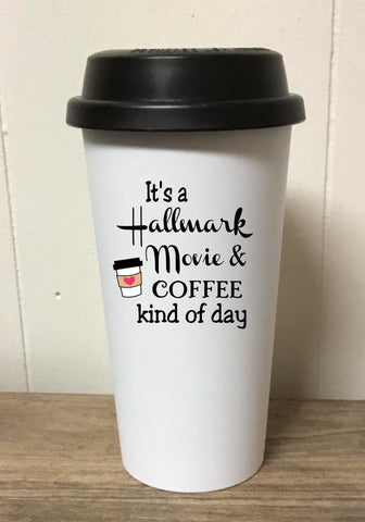 Hallmark and Coffee Day Tumbler