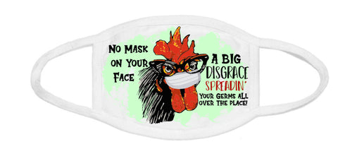 Face Mask - Masked Chicken