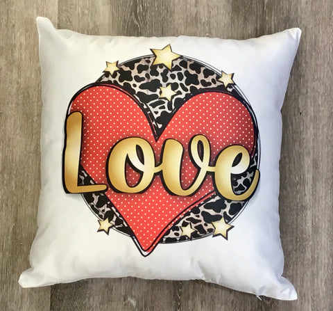 Love Heart Pillow