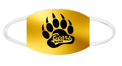 Face Mask - BGHS Golden Bears