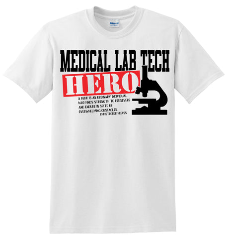 Med Lab Tech Hero T-Shirt