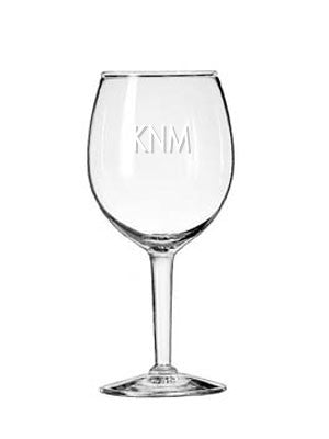 Wine Glass, Engraved