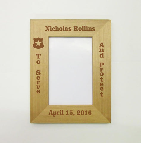 Police Officer Picture Frame