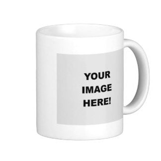 Image Printing Coffee Mug, Create Your Own