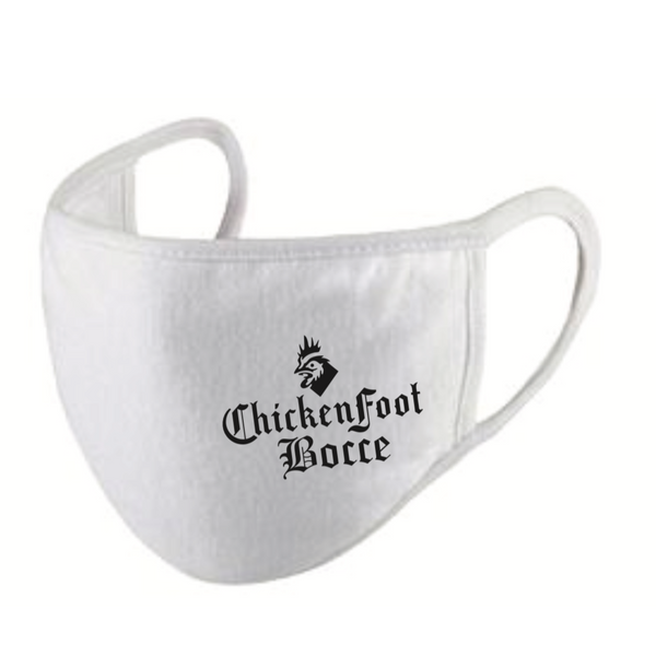 Chickenfoot® Safe Bocce Products - Face Mask