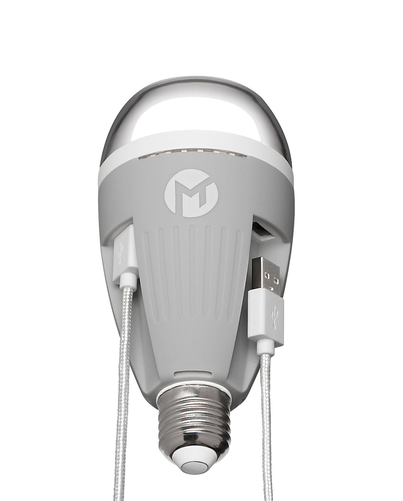 Mega Tiny PowerBulb LED Light Bulb with 2 USB Ports