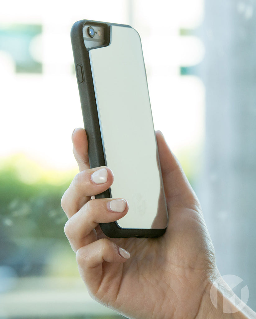 MEGAVERSE Anti-Gravity Mirror iPhone Case