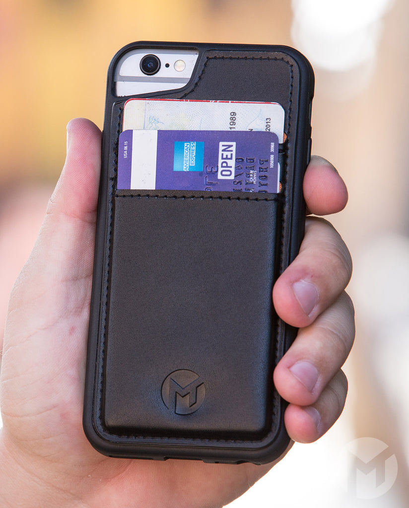 Megaverse Cell Phone Wallet Case with Credit Cards