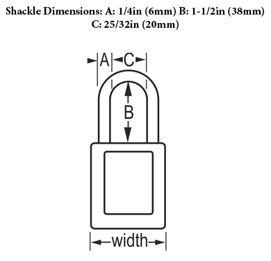 Shackle Dimensions
