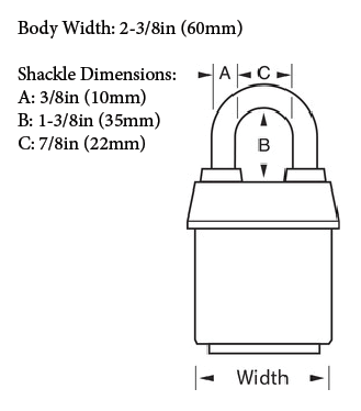 Master Model No. 6125 Diagram with Dimensions