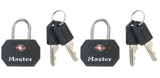 "Master TSA 1 1/4"" Luggage Lock Model No. 4681TBLK"