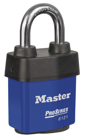 Master Pro Series Padlock Rekey Model No. 6121BLU