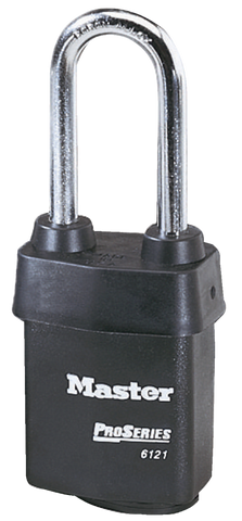 "Master Pro Series Padlock 2"" Shackle Model No. 6121LJ"
