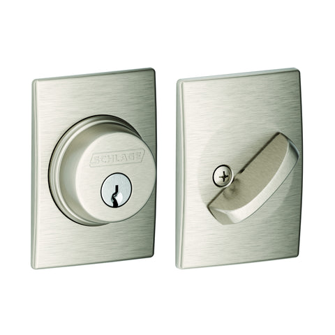 Schlage B60N  Single Cylinder Deadbolt with Century Trim