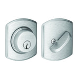 Schlage Single Cylinder Deadbolt with Greenwich Trim